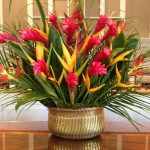 Pentecost arrangement by WPC Flower Guild