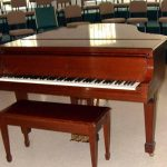 Grand Piano in Choir Room