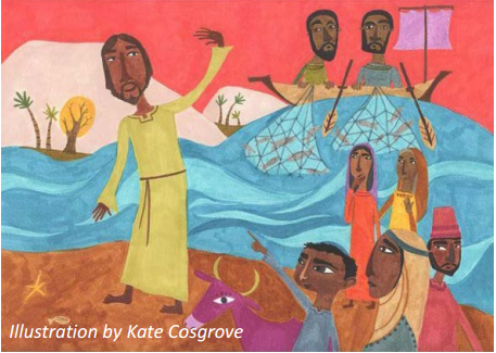 Disciples at Shore Kate Cosgrove